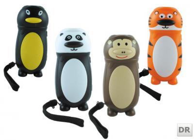 kinder dynamo taschenlampe zoo kollektion batterielos ebay. Black Bedroom Furniture Sets. Home Design Ideas